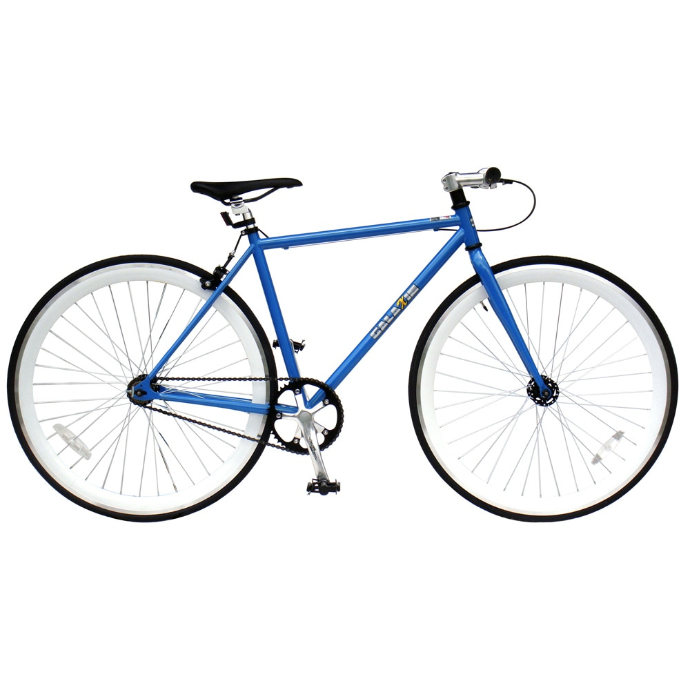 Galaxie Fixie Bike, Blue Frame