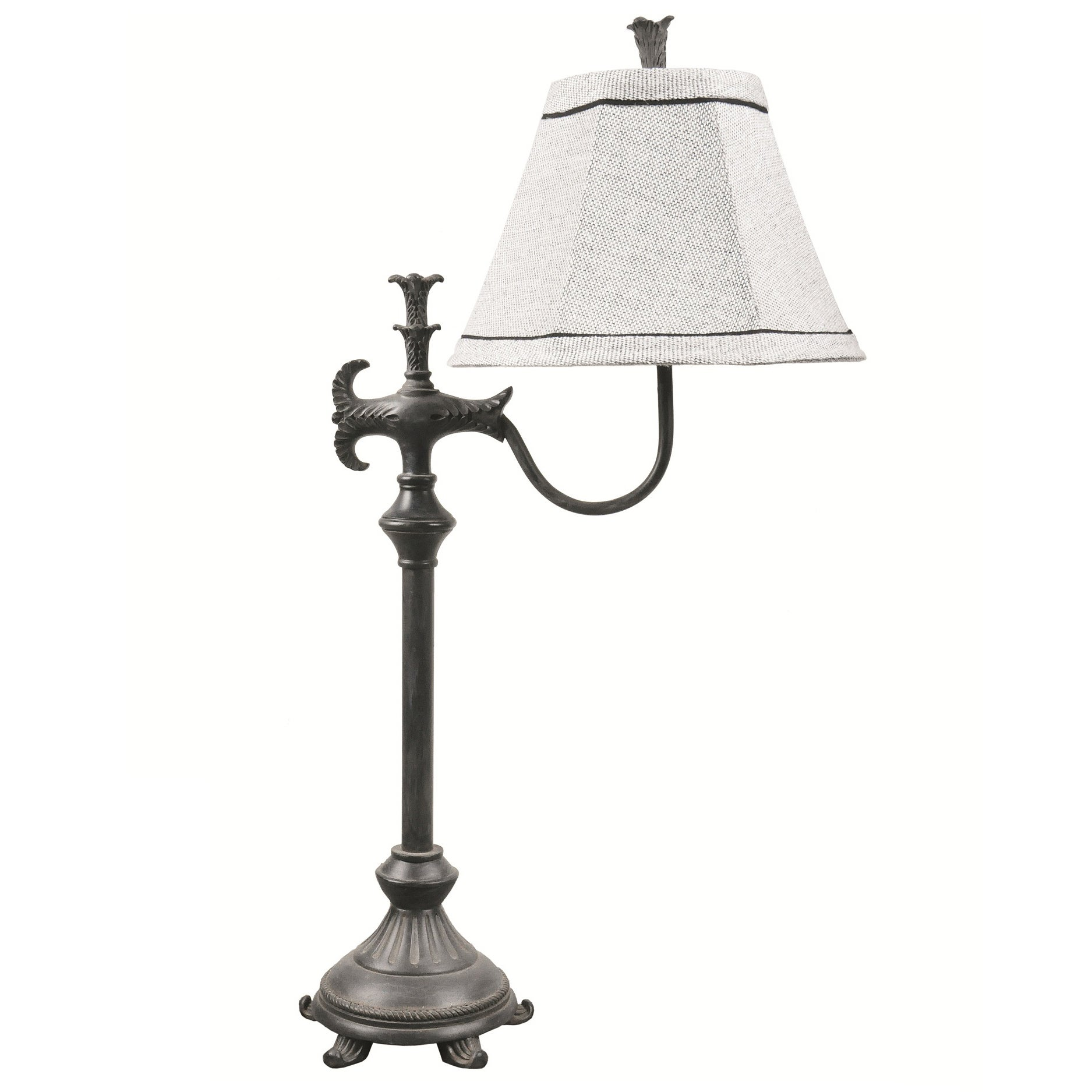 Somette Filigree Old Iron Table Lamp