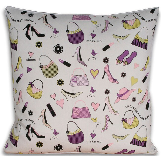 Love Shopping 20x20-inch Pillow