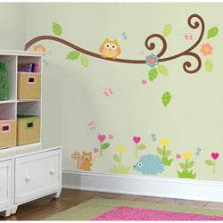 RoomMates Happi Scroll Branch Peel and Stick Wall Decals