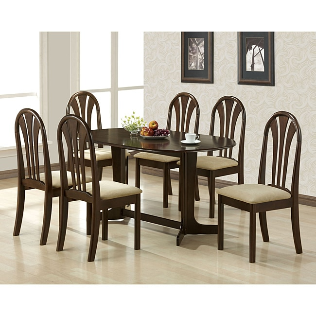 Stockholm Espresso Finish Chairs (Set of 2)