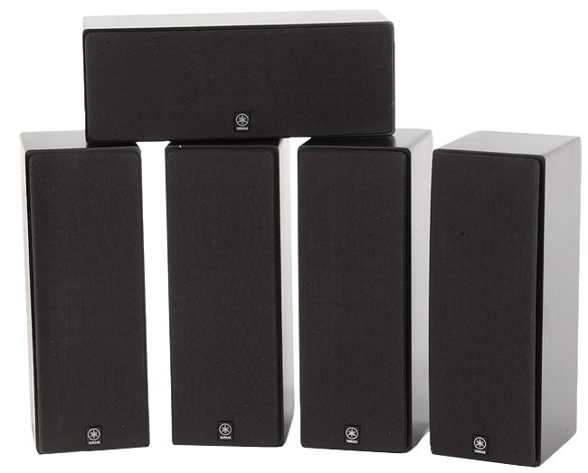 Yamaha ns ap480 five speaker home theater package free for Yamaha ns 50 speaker pack