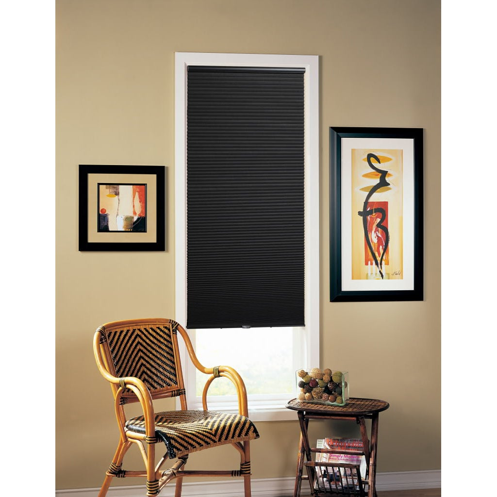 Black Cordless 64-inch Cellular Shade
