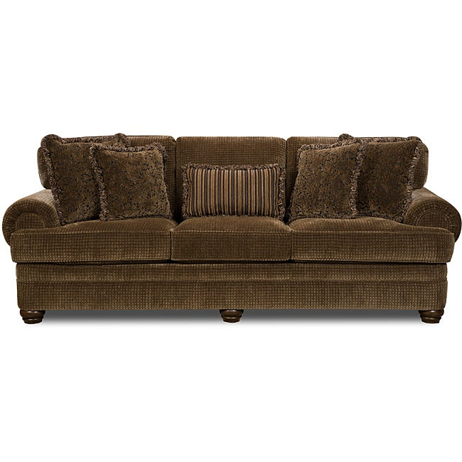 Beautyrest Lake Charles/ Lafayette Bronze Sofa