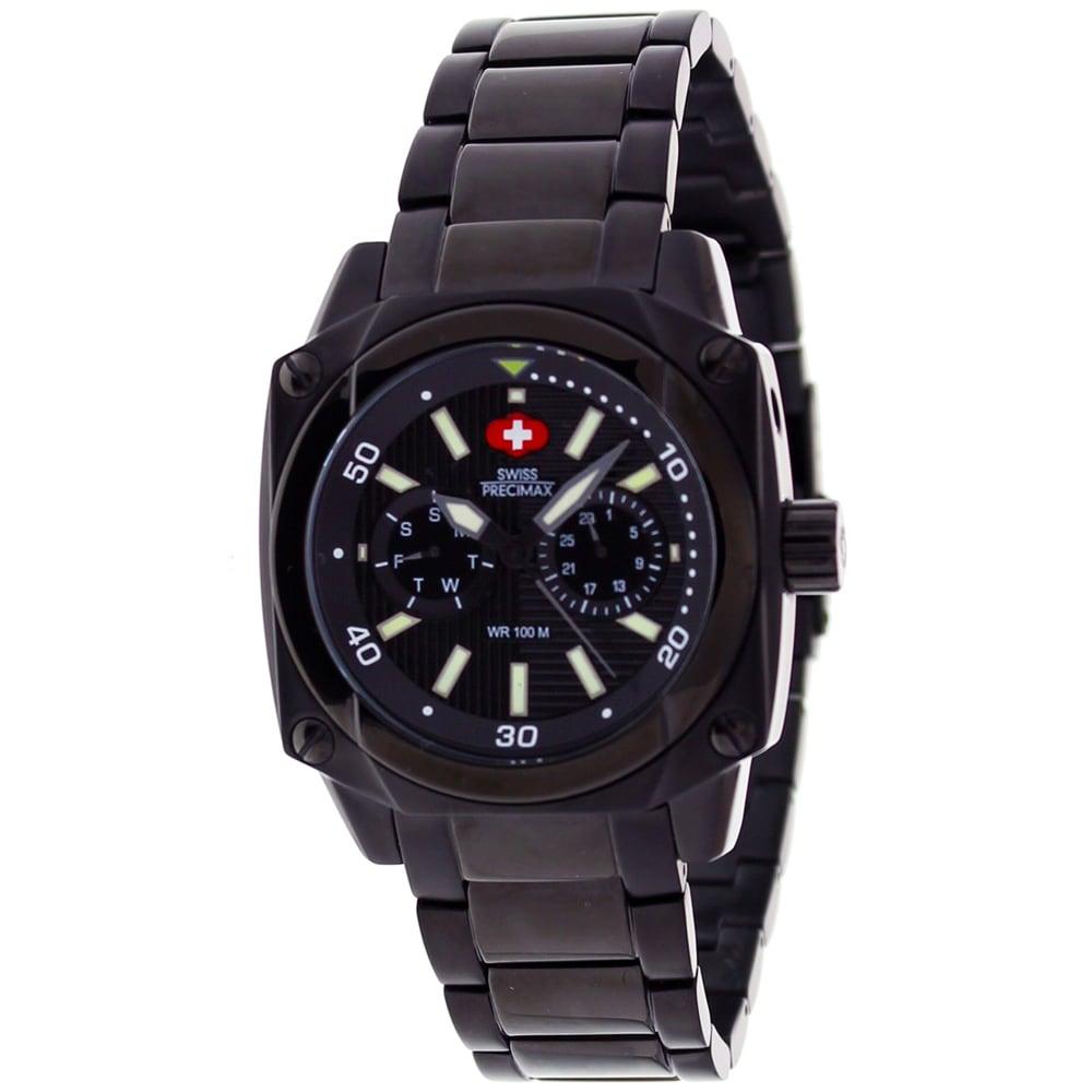 Swiss Precimax Men's Supra XT Stainless Steel Watch