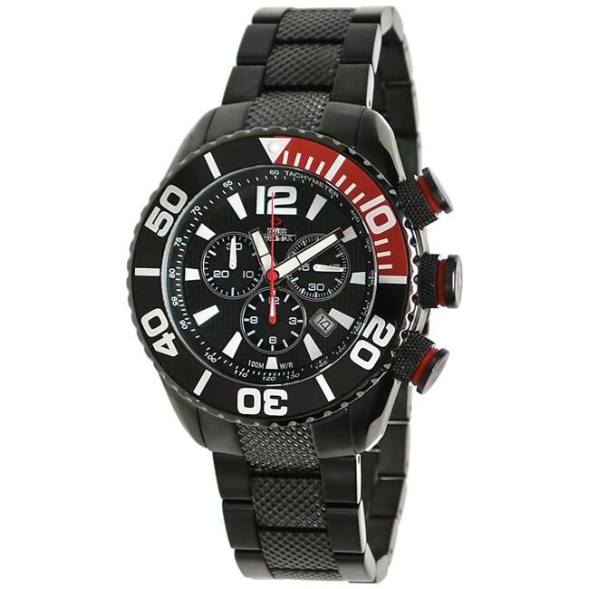 Swiss Precimax Men's Deep Blue Pro Stainless Steel Watch