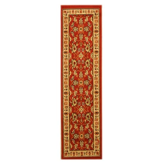 Pat Mahal Oriental Red Rug (2' x 7'3)