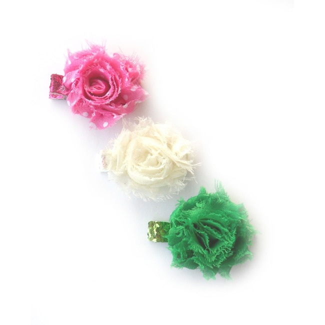 Boutique Mini Shabby Clips (Set of 3)