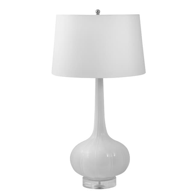 Grey Ceramic Lamp