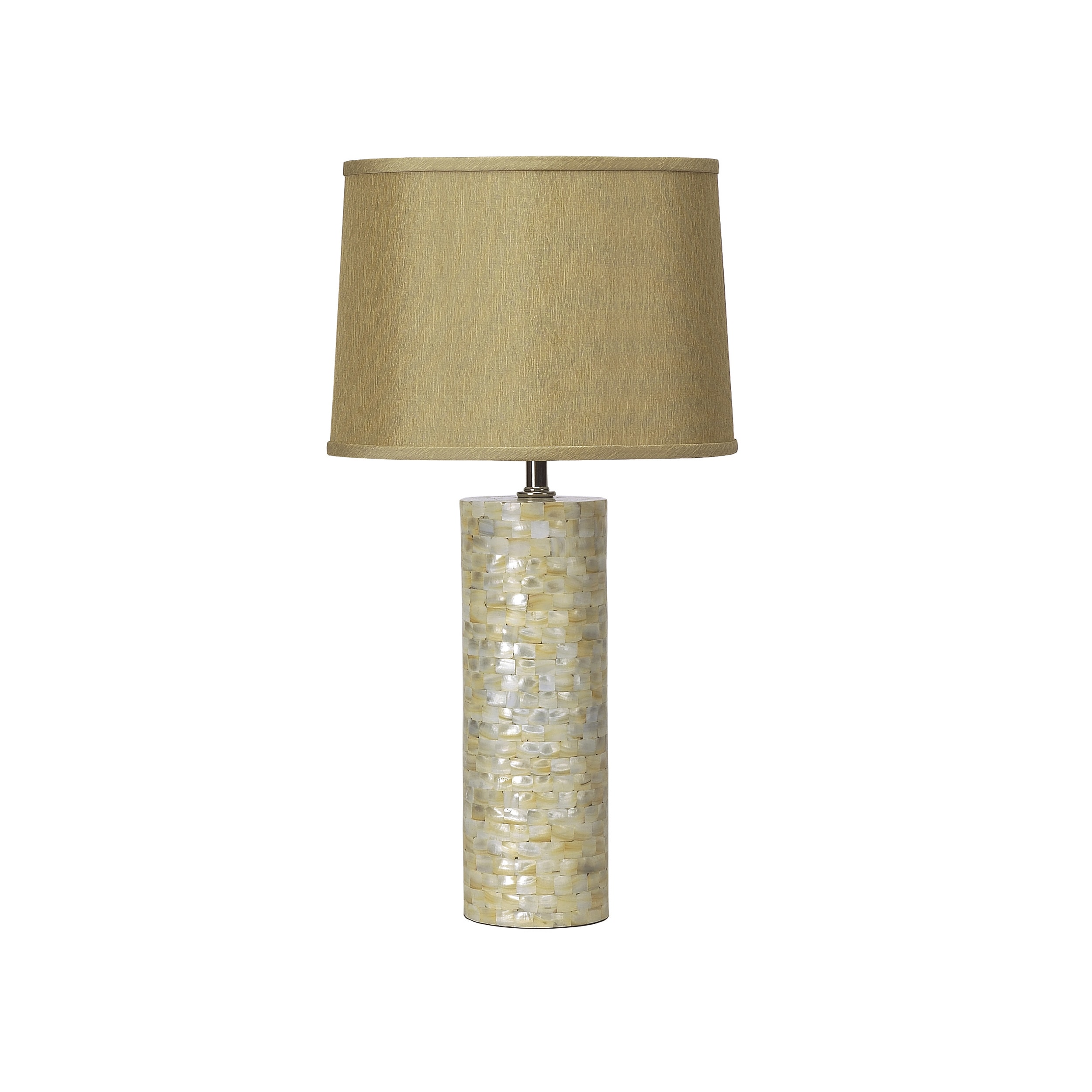 Mother of Pearl Cylinder Lamp