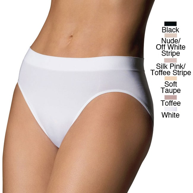 Bali Women's Passion For Comfort Microfiber Hi-Cut Brief