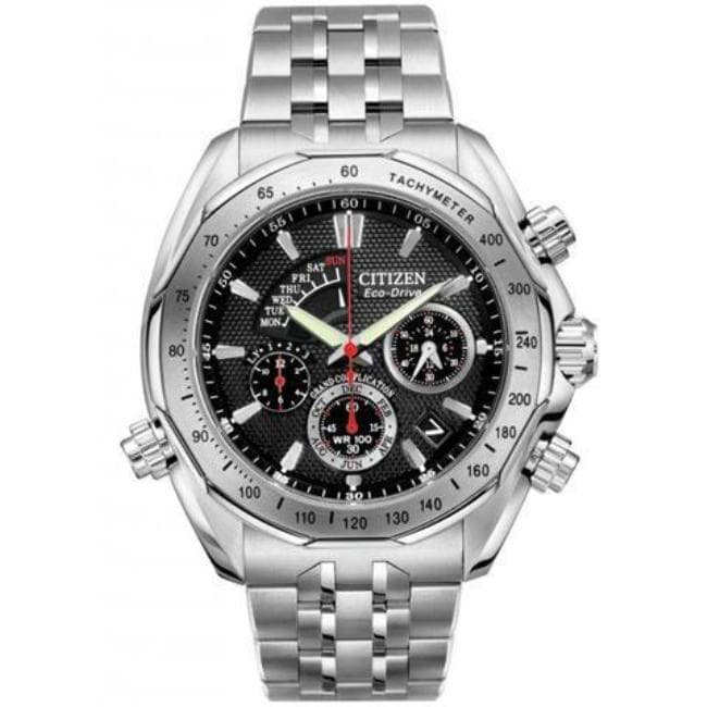 Citizen Men's Signature Eco-Drive Stainless Steel Watch