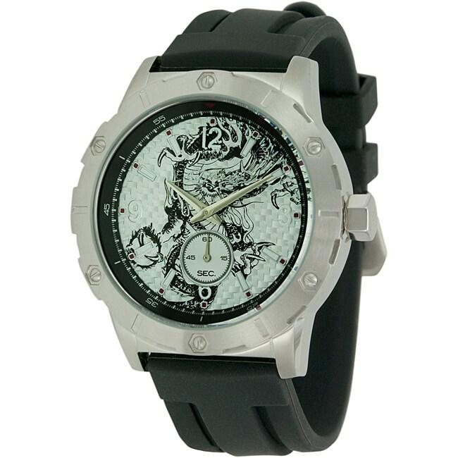 Ed Hardy Men's Matrix Black Watch