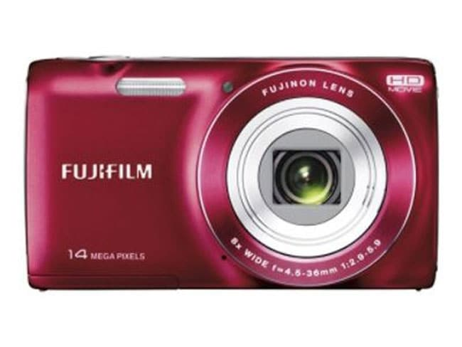 Fujifilm Finepix JZ100 14MP Red Digital Camera Bundle