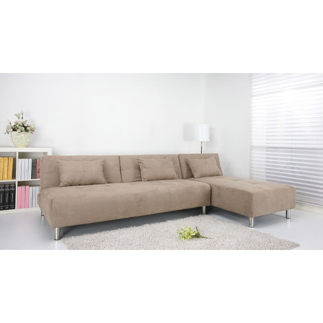Atlanta stone convertible sectional sofa bed free shipping today 14364248 Sofa beds atlanta