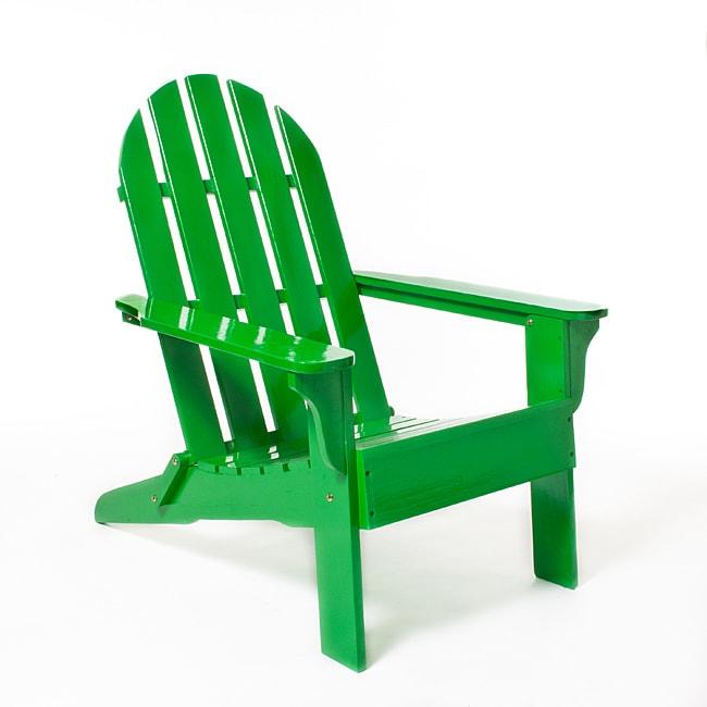 Green Adirondack Chair