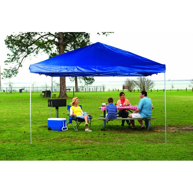 Fast Set Instant Pop Up Straight Wall Canopy (12' x 12')