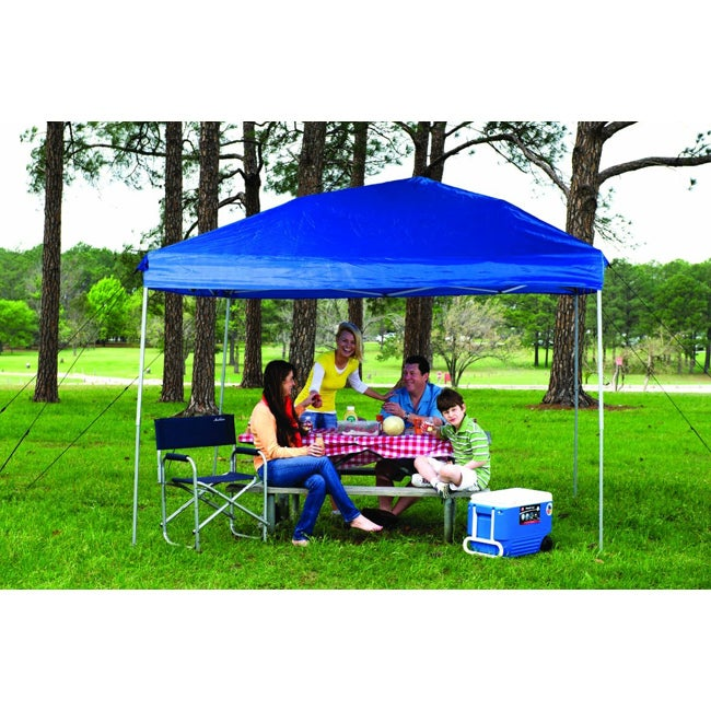 Fast Set Instant Pop Up Straight Wall Canopy (10' x 10')