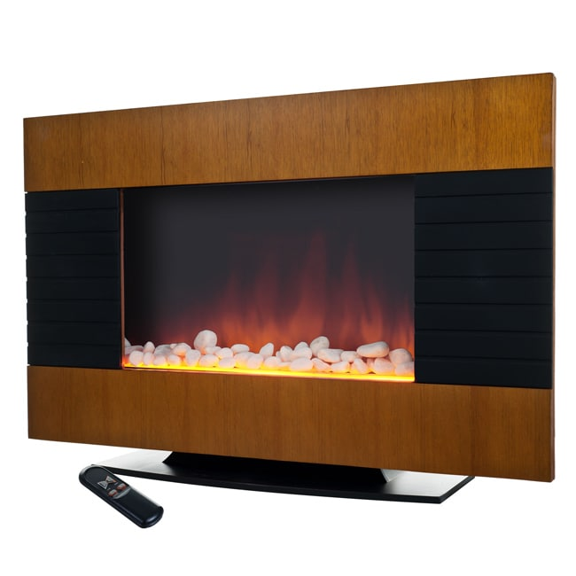 Northwest Merlin Electric 2-in-1 Heater Fireplace - Thumbnail 0