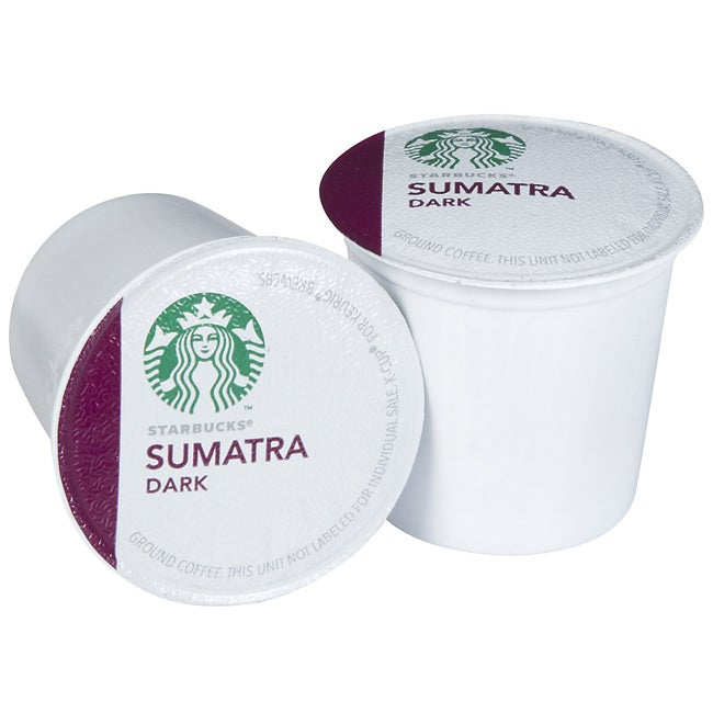 Starbucks Sumatra Blend Coffee 160 K-Cups for Keurig Brewers