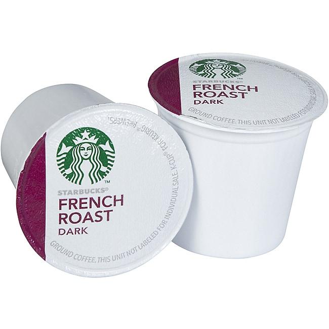Starbucks Coffee French Roast 160 K-Cups for Keurig Brewers