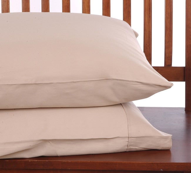 Sutton Park 300 Thread Count Combed Cotton Standard Pillowcase Set-of-2