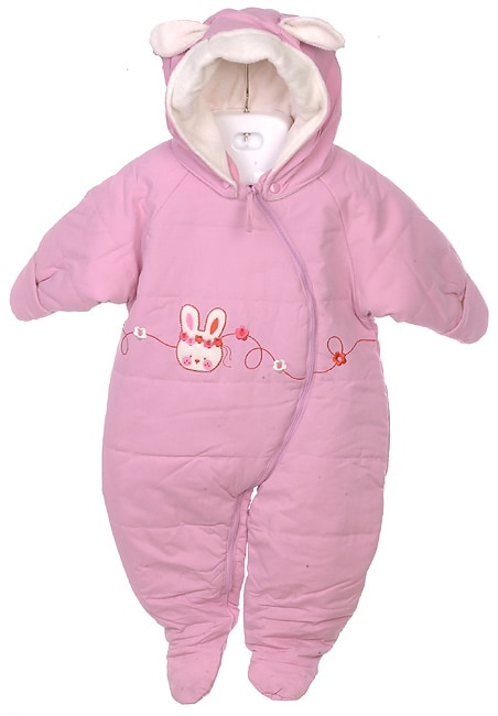 Weatherproof Garment Co. Infant Pink Snow Suit