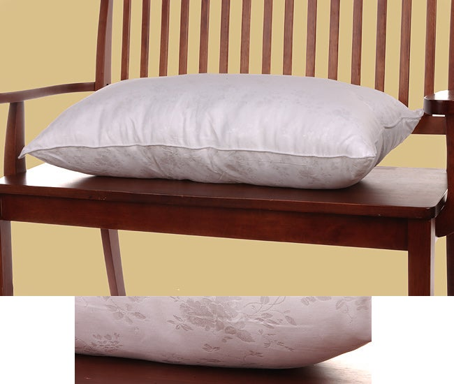 Laura Ashley 500 tc Silk/Cotton Bed Pillow (20 x 36 in.)