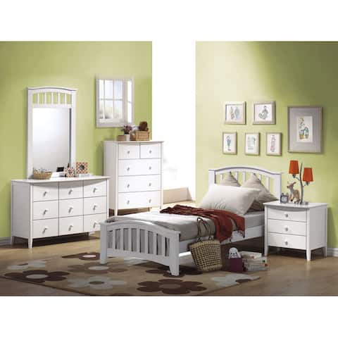 White Twin Size Bed