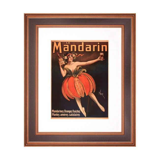 'Le Mandarin' Framed Print Art