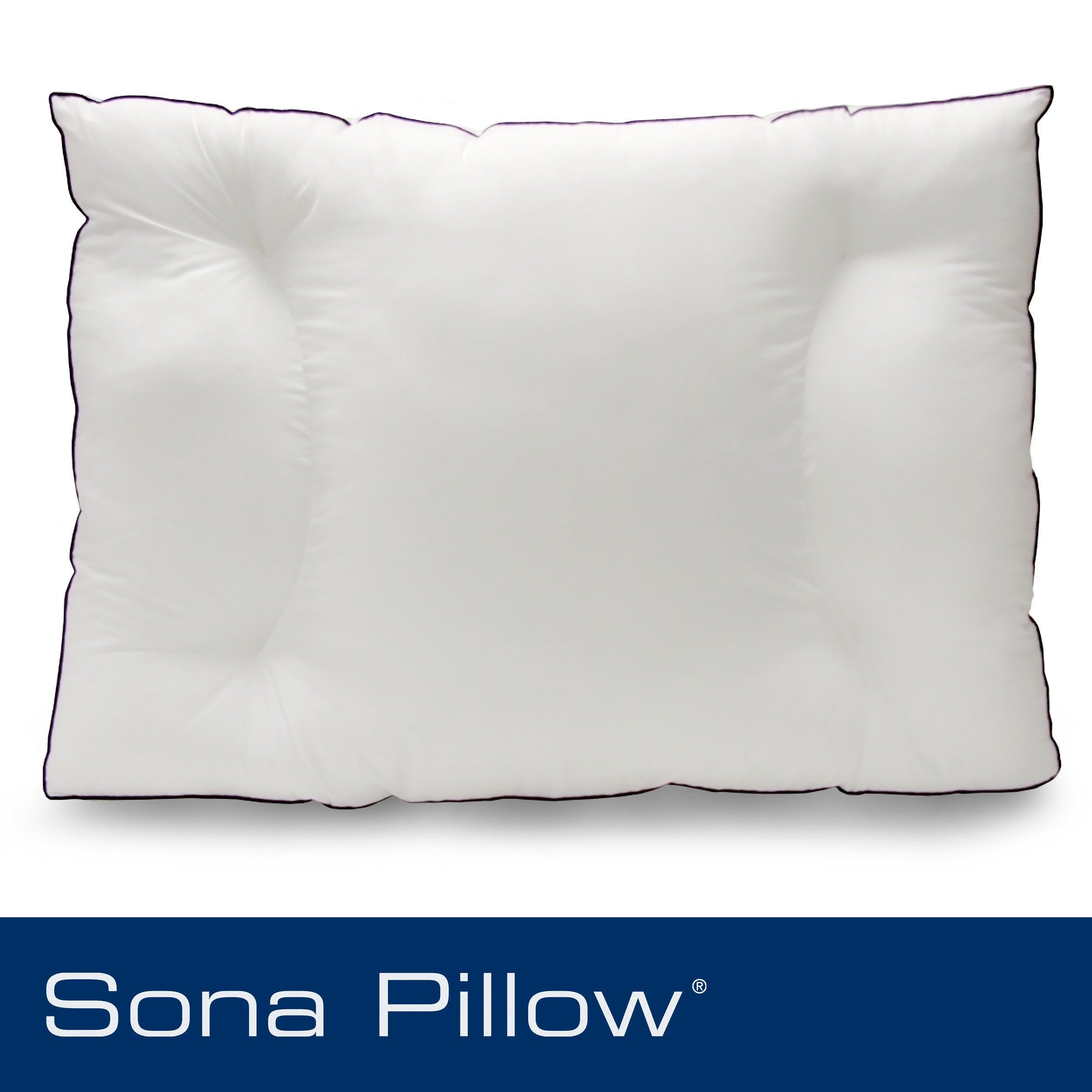 Sona Side Sleeper Jumbo-size Gusseted Pillow - Thumbnail 0