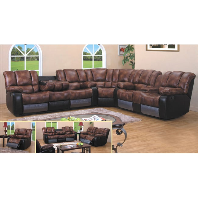 Reclining Sofa Sectional