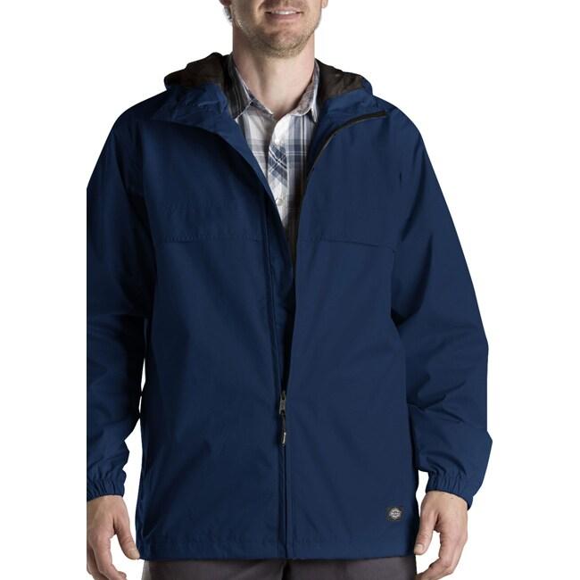 Dickies Mens' Dark Navy Waterproof Breathable Jacket
