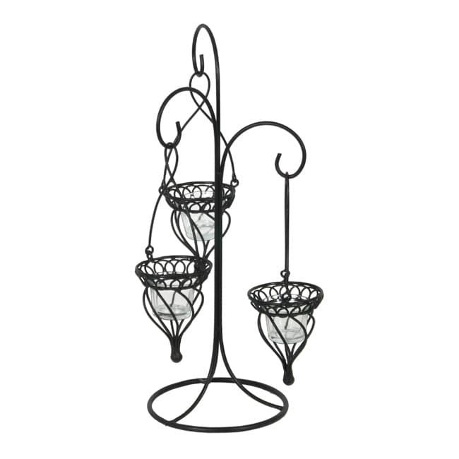 Tabletop Hanging 3-Votive Candle Holder