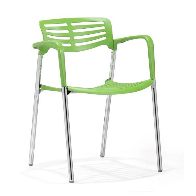 Zuo Scope Green Dining Chairs (Set of 4)