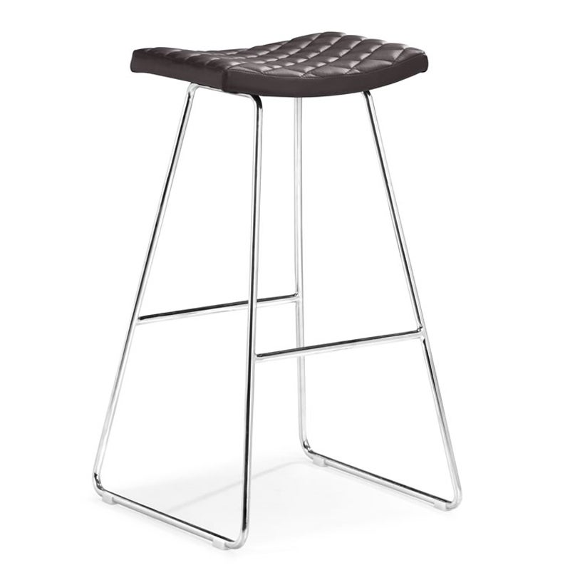 Zuo Crescent Espresso Bar Chairs (Set of 2)