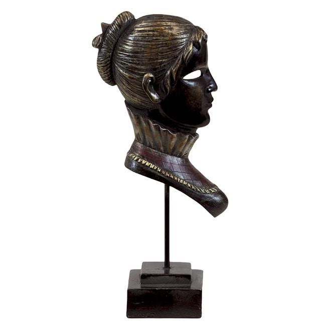 Urban Trend Resin Mask Sculpture