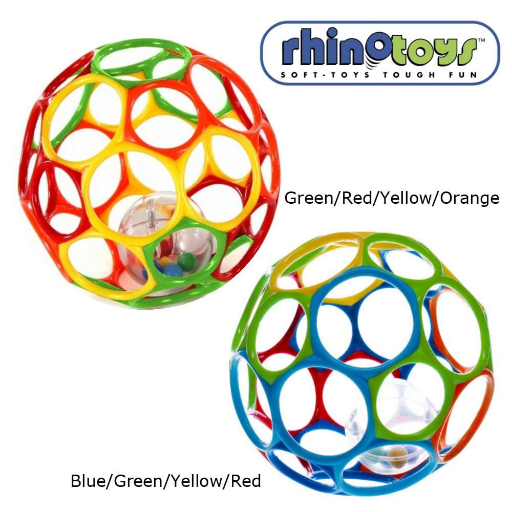Rhino Toys 6-inch Oball Rattle