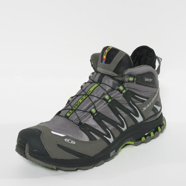 Salomon Men's XA Pro 3D Mid GTX Ultra Swamp Hiking Shoes