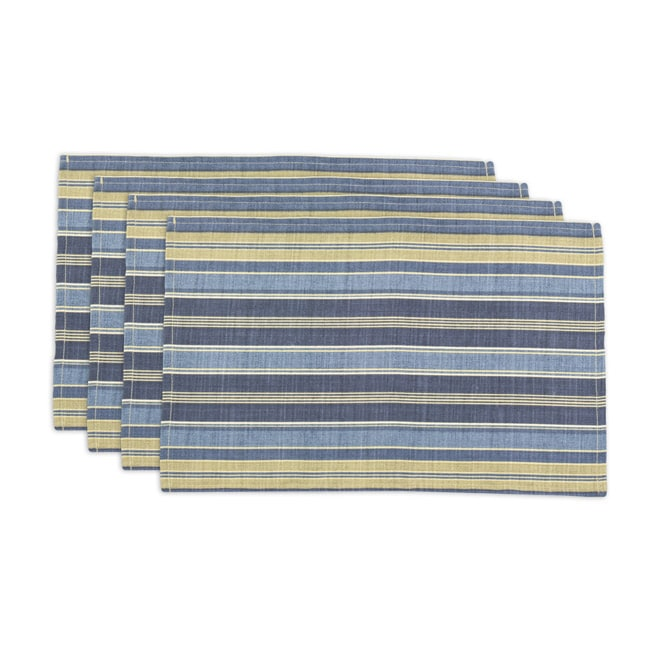 Vera Cruz Ocean Striped Placemats (Set of 4)