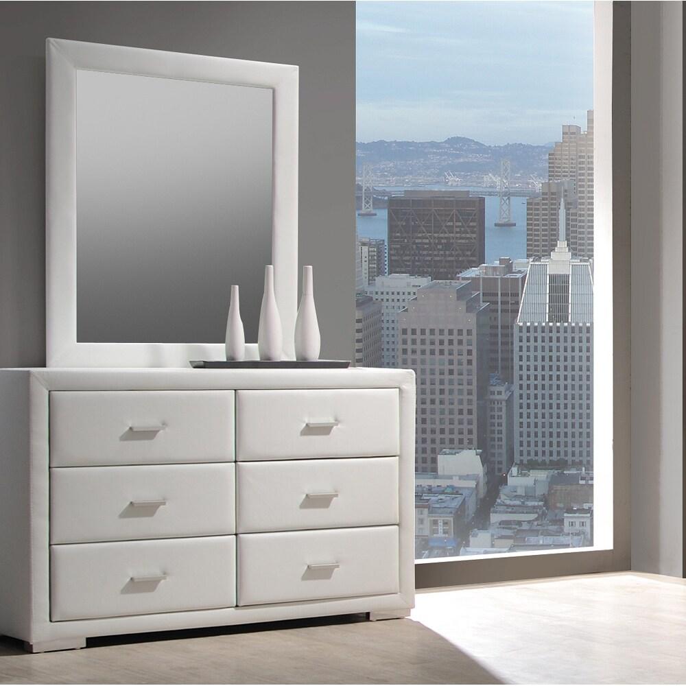 Sierra White Dresser/ Mirror