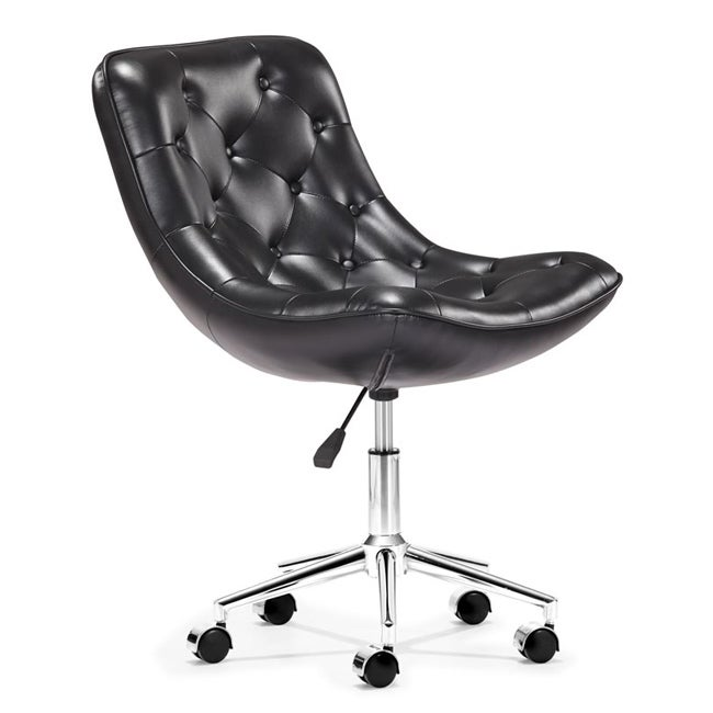 Bon Bon Black Office Chair