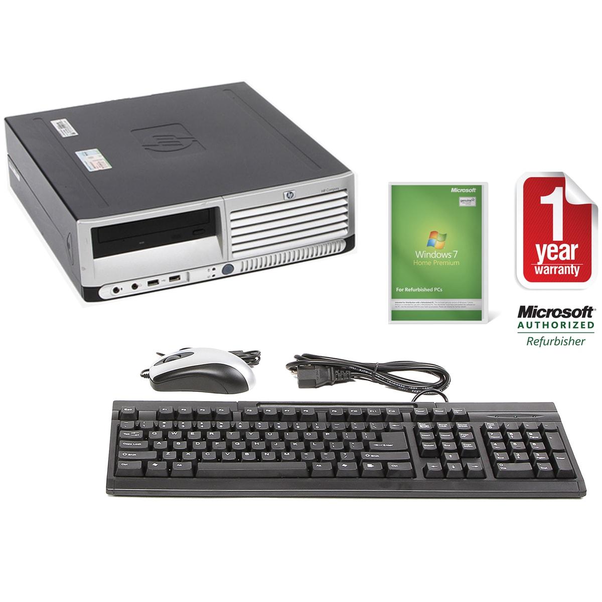 HP DC7700 3.0GHz 1TB SFF Computer (Refurbished)