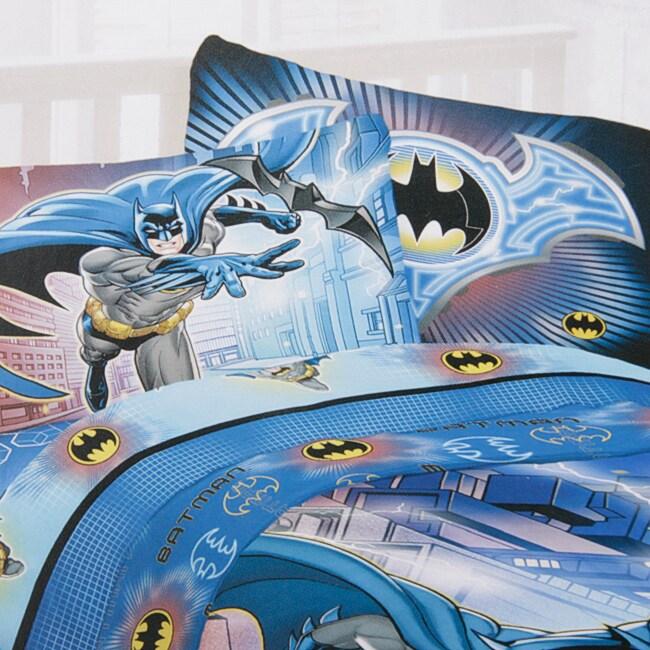 DC Microfiber Batman Full-size Sheet Set