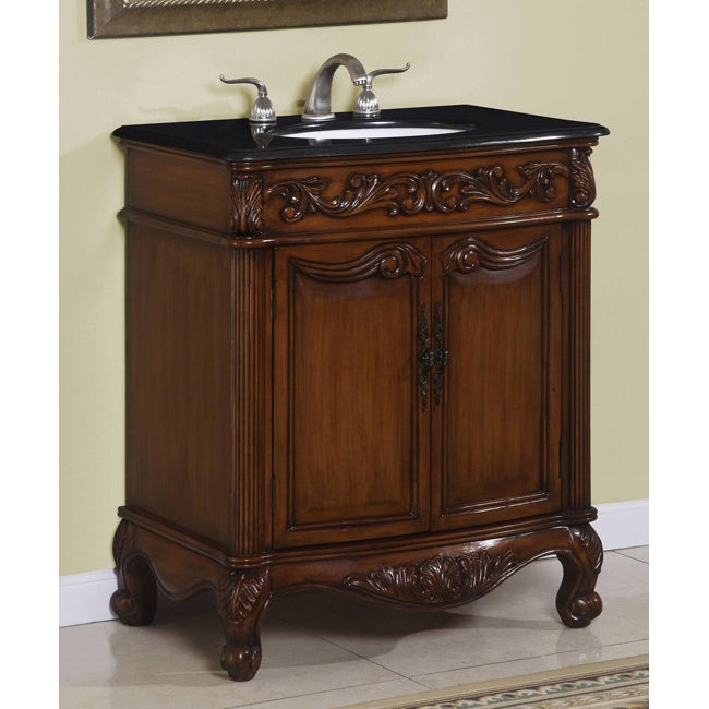 ICA Furniture Priska 30-inch Single Sink Bathroom Vanity