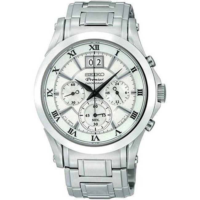 Seiko Men's Premier Chronograph Watch