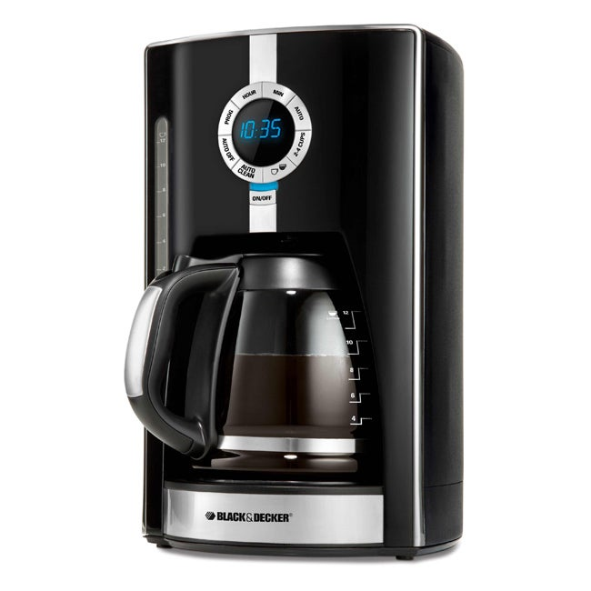 Black & Decker D 12-cup Programmable Coffee Maker