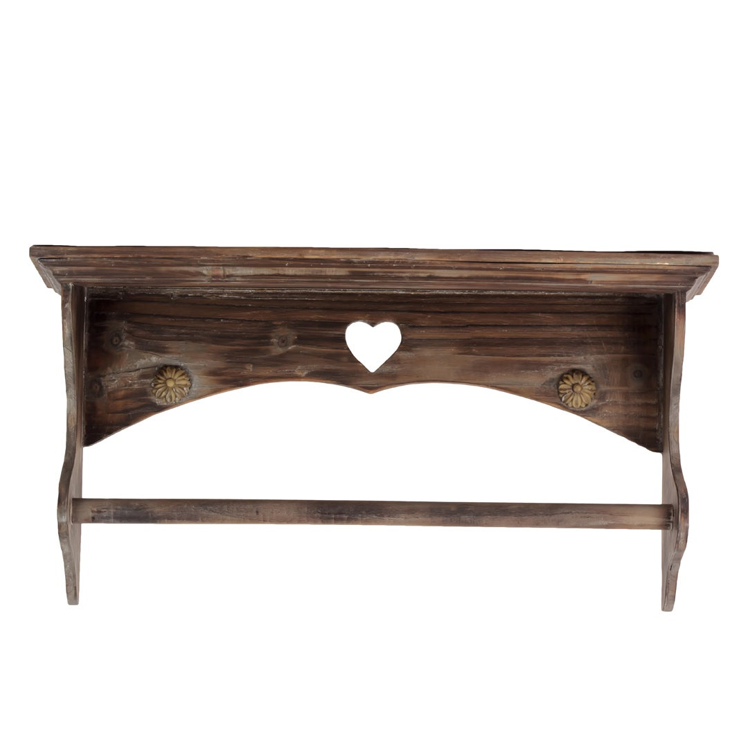 Urban Trend Collection Wooden Shelf with Rod
