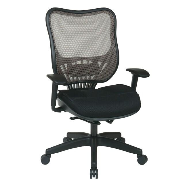 Office Star Executive Latte Air Grid Back Chair
