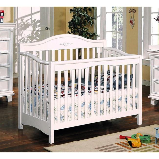 Heartland White Finish Baby Crib